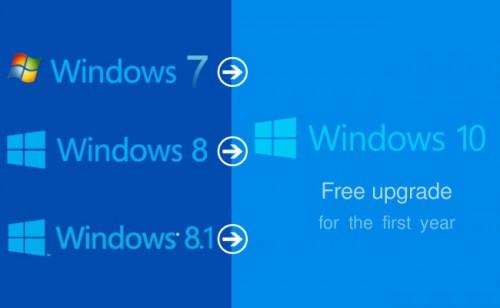 Бесплатный переход на Windows 10