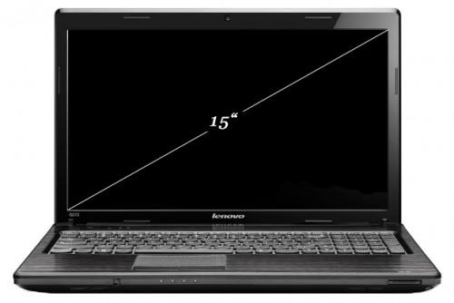 Диагональ ноутбука