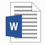 Удаление страниц в Word 2013