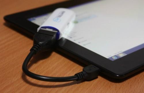 Соединение флешки и телефона