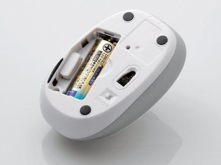 Замена батареек в беспроводной мыши