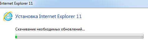 Установка Internet Explorer 11