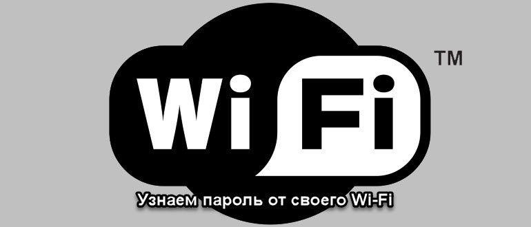 Узнаем пароль от своего Wi-Fi