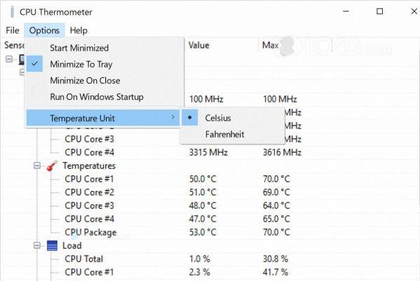 CPU Thermometer.